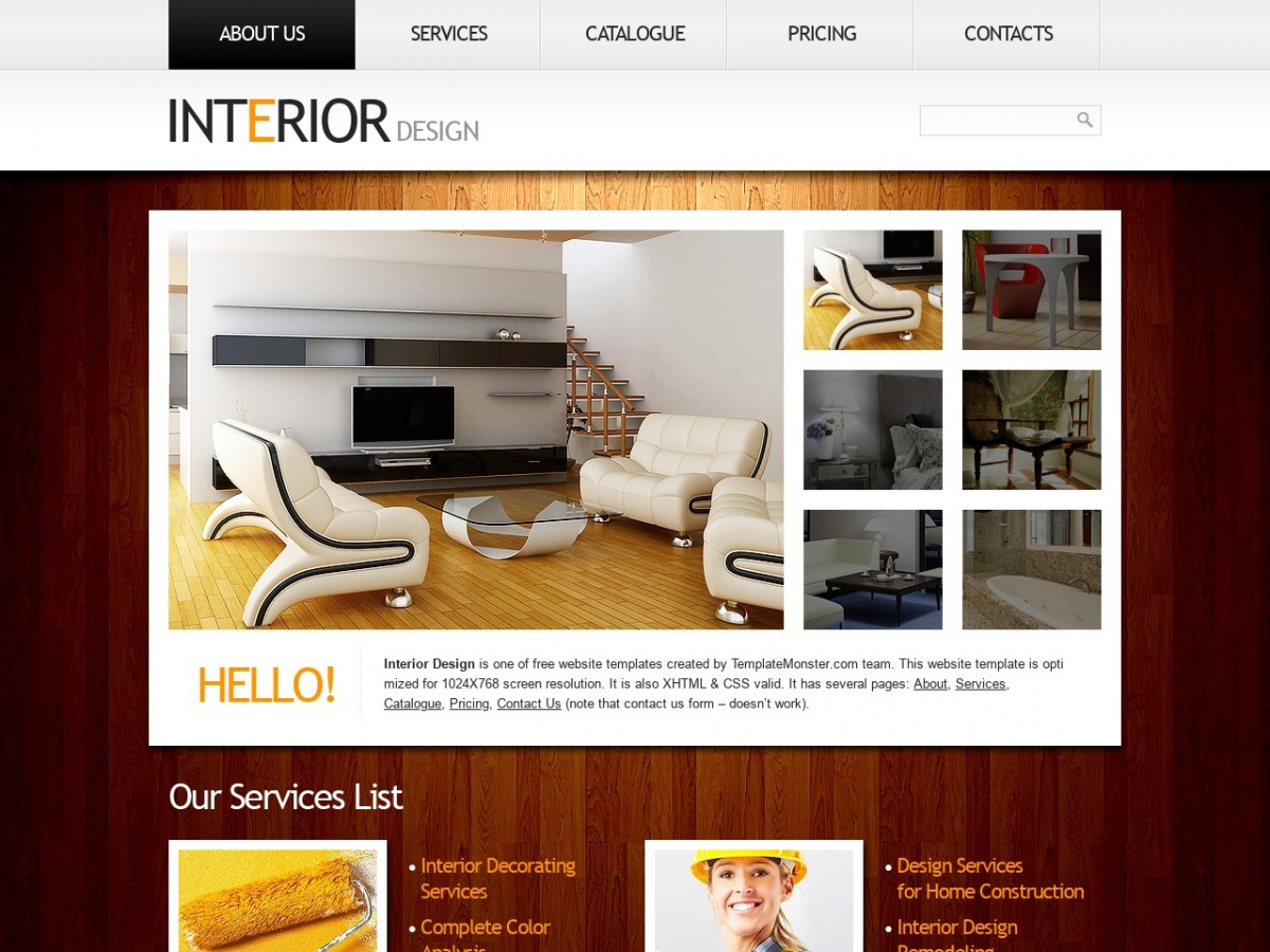 Interior Design Room Templates Free